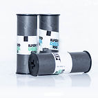 Rolls of Ilford 120 film black and white