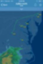 Flight Aware flight tracker, N901WM from PNE to CHO