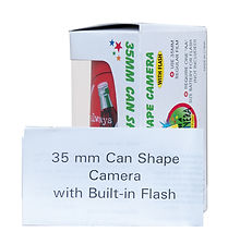 Coke can camera new in box