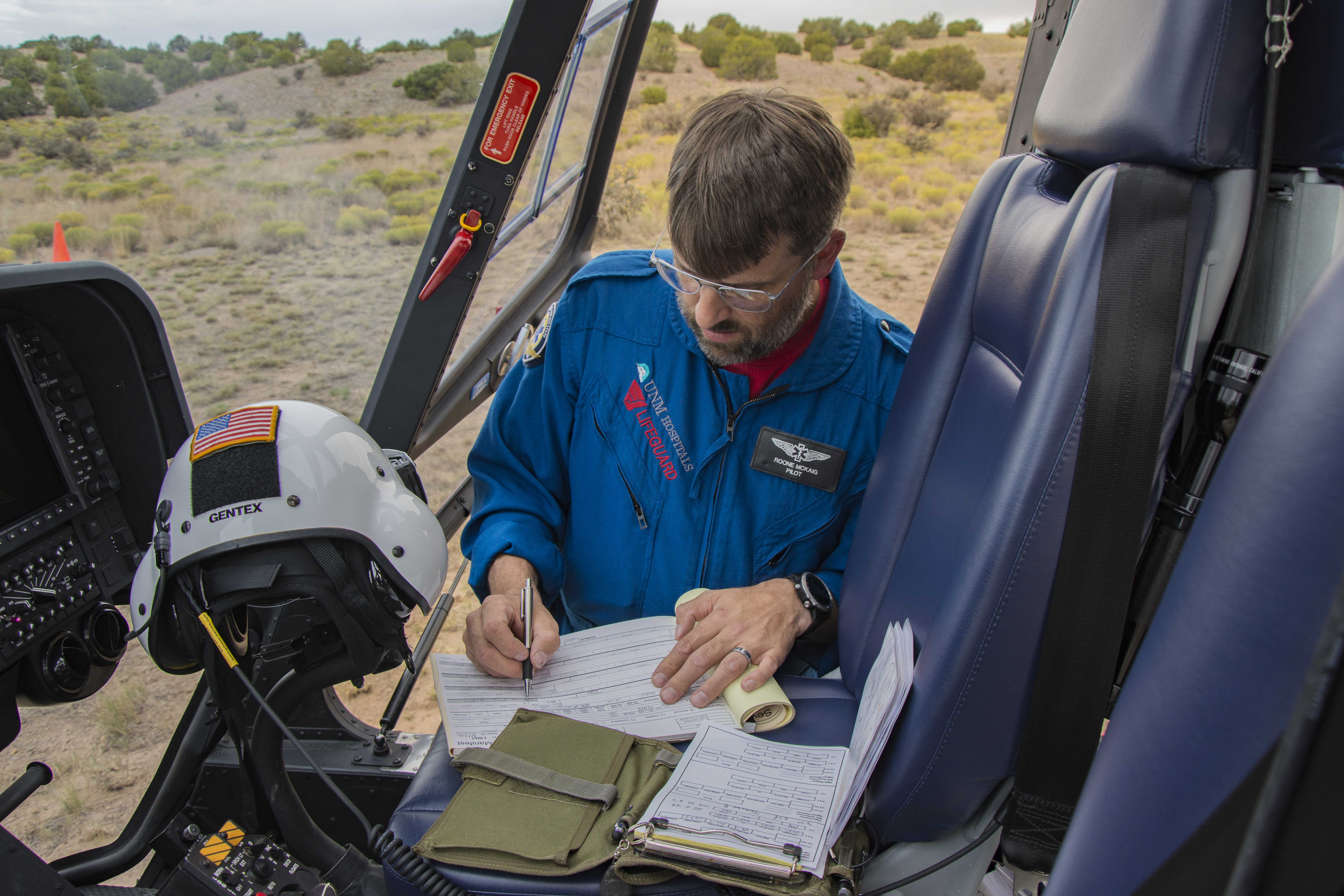 Helicopter Pilot Paperwork