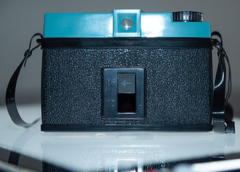 back view of Lomography's Diana remake