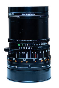 CF 50mm film camera Hasselblad lens