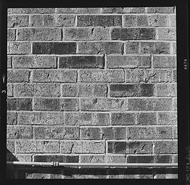 Brick wall sharpness test taken with 80mm carl zeiss lens