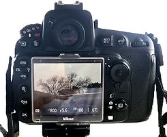 Nikon d810 live view manual mode aperture, shutter speed, and ISO settings for correct expsure