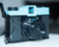 Diana camera in pinhole photo mode