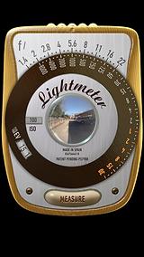 myLightmeter sample exposure reading