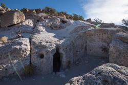 Tsankawi cave dwelling