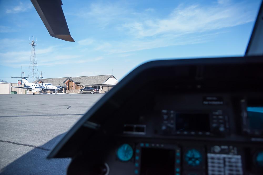 Batesville Regional Airport KBVX Arkansas, diverted for Jet A fuel