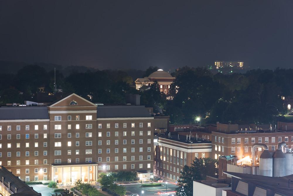 University of Virginia at Night