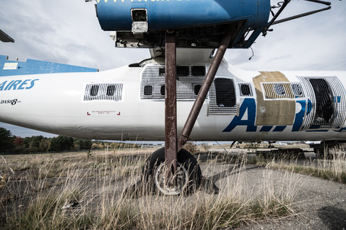 brazilian dash 8 in graveyard, retired