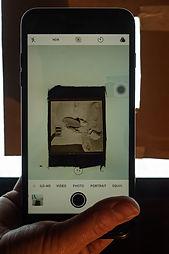 using smart invert to view 120 film medium format negative