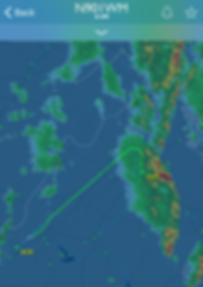Flight tracker, flight plan from CHO to BCB for N901WM off of Flight Aware