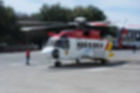 Sikorsky S-92 helicopter for the Korean Coast Gaurd lands for heli expo in Dallas TX