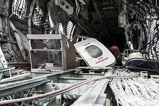 airplane graveyard, emergency exit
