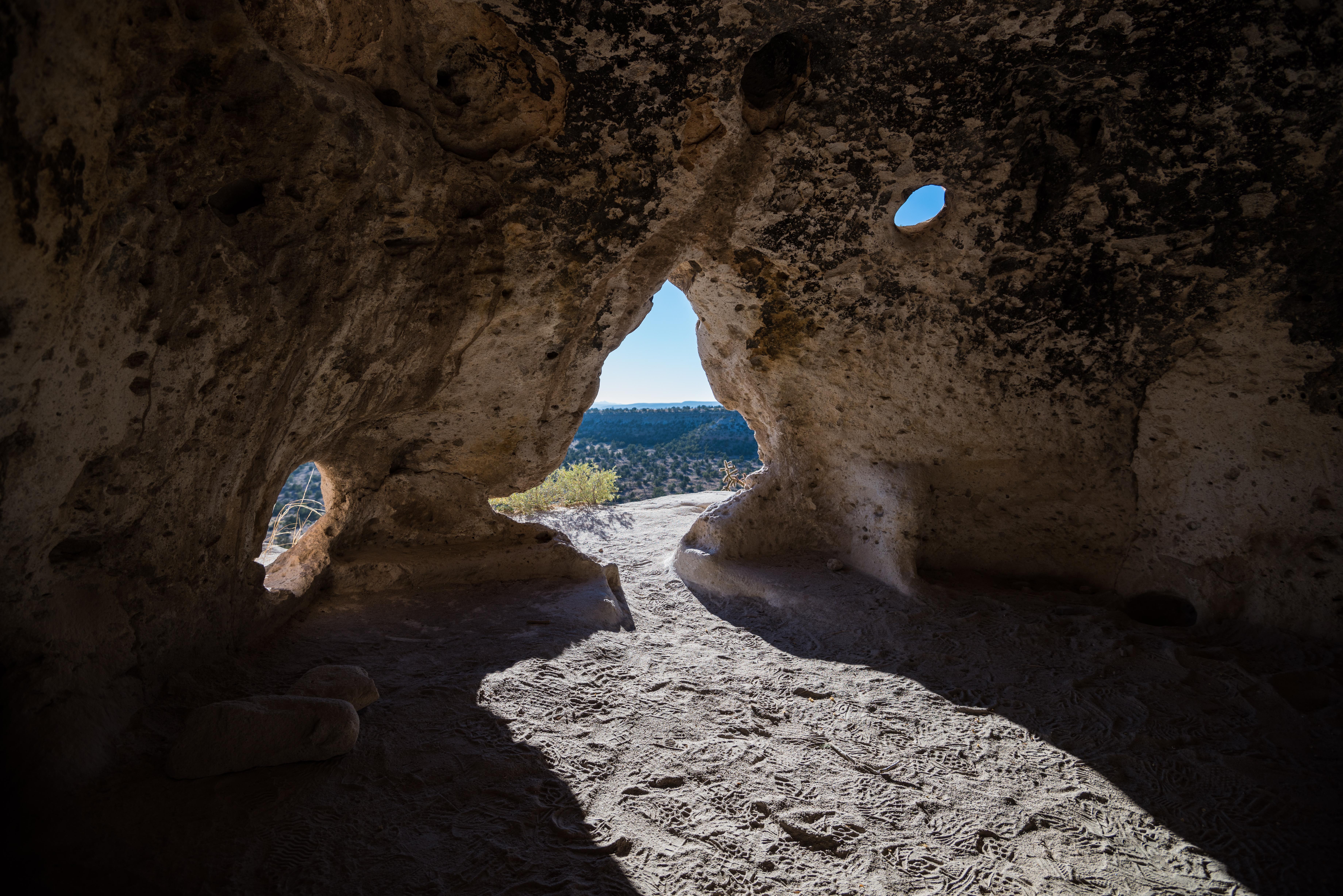 Vivid Cave Dwelling