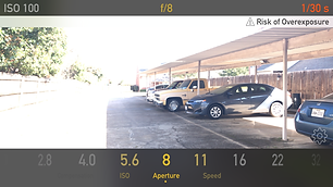 lux a free light meter app chooses correct exposure for shadows