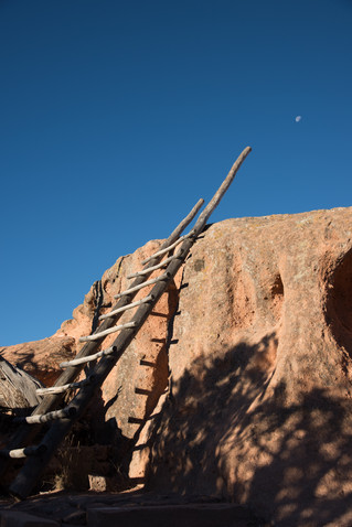Hike through Bandelier National Monument