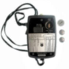 gossen light meter made in takes old mercury Hg batteries1960 West Germany
