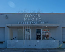 Dons photo equipment in Dallas Texas camera store