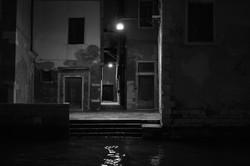 Lonely Venetian alleyway