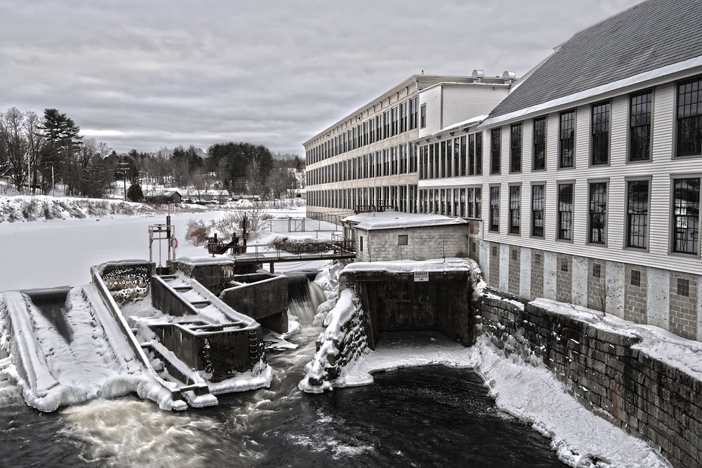 Some fun with HDR at the hydro dam in Dover Foxcroft