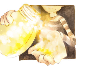 You are the light. Be the light.