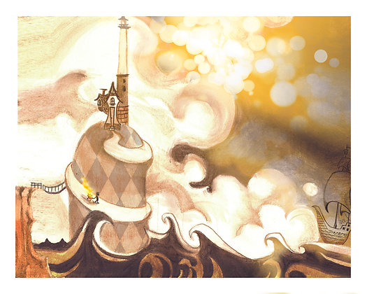 """Lighting the World"" Print"