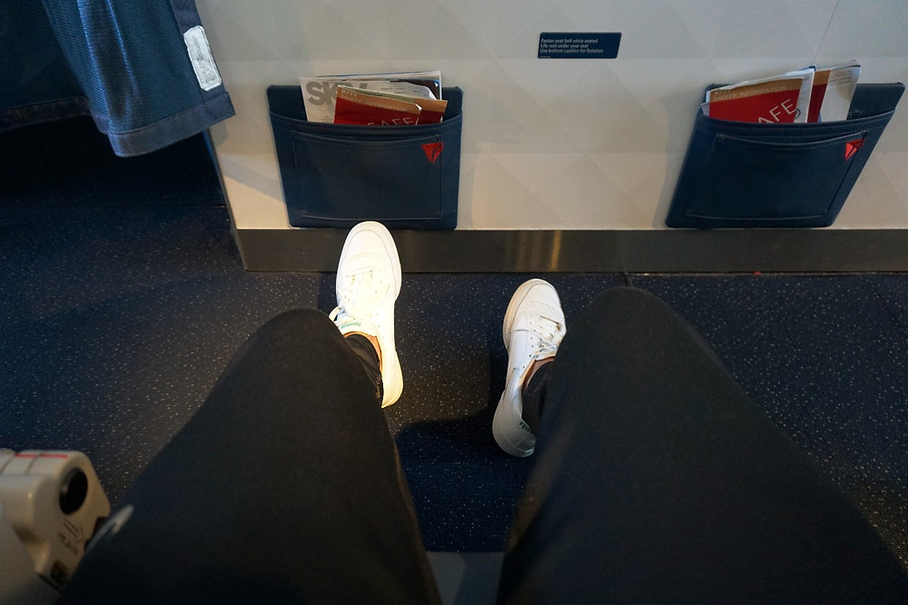 Delta comfort plus seat legroom