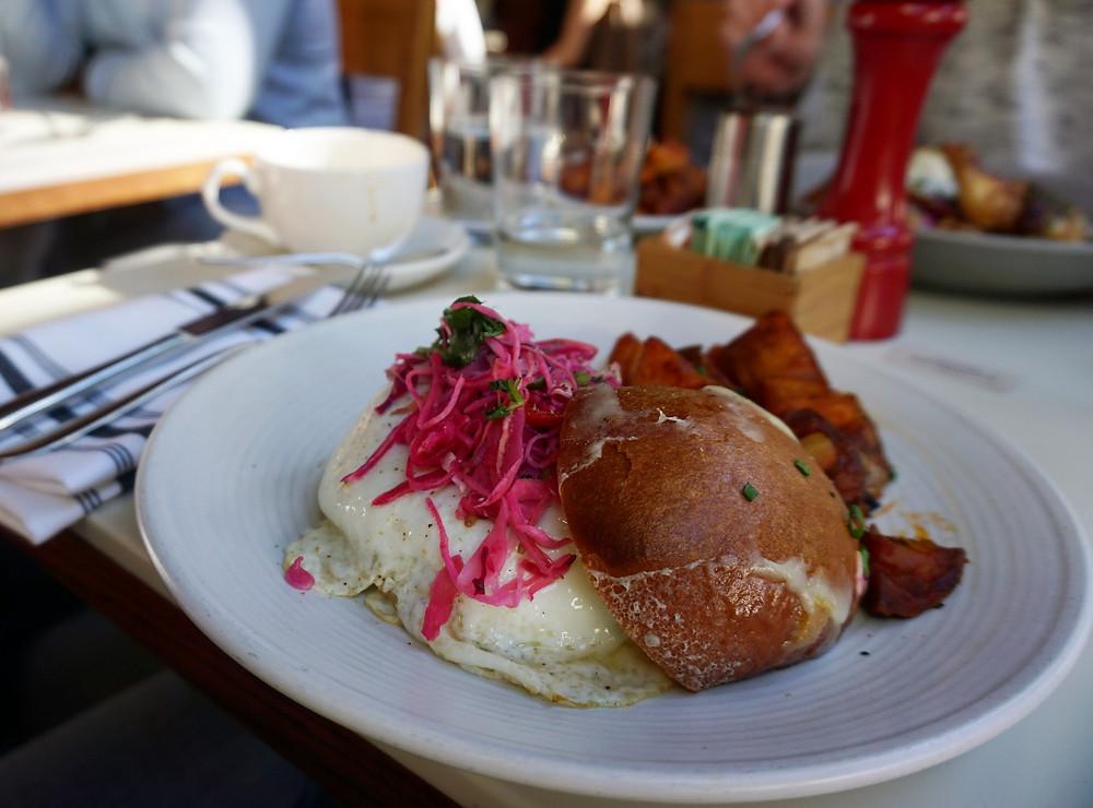 Cookshop - Fried Egg Sandwich