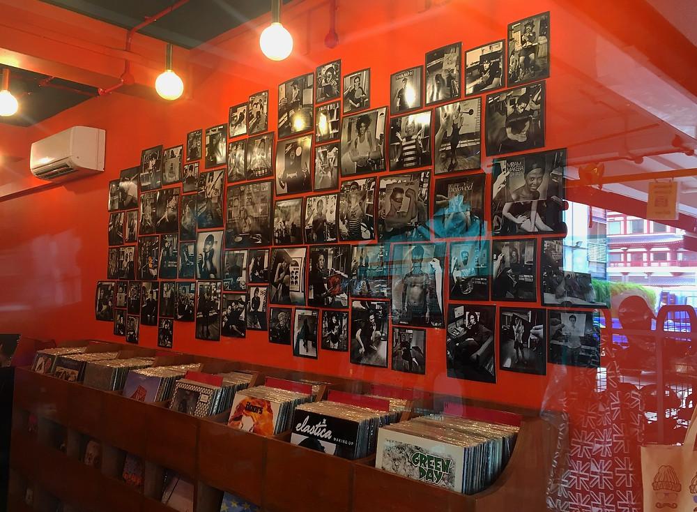 Chinatown Singapore Music store