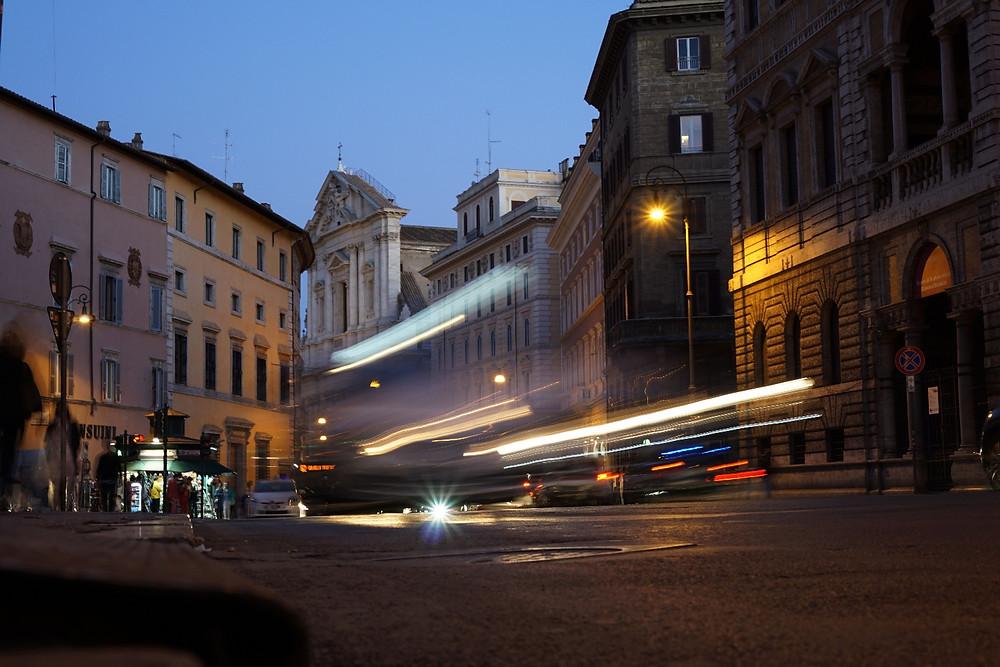 Streets of Rome - dusk