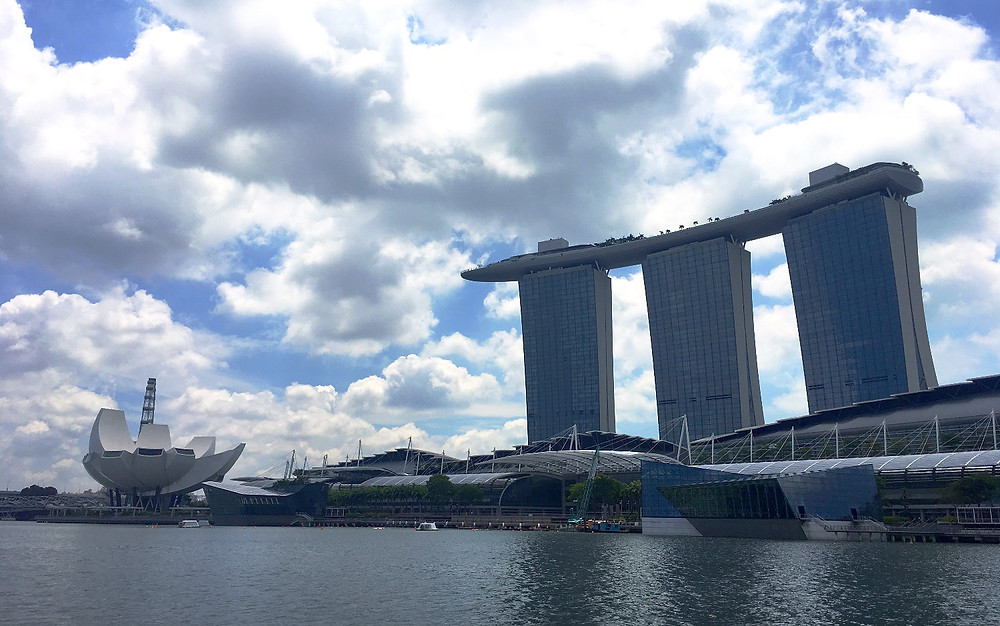 Marina Bay Sands - River view