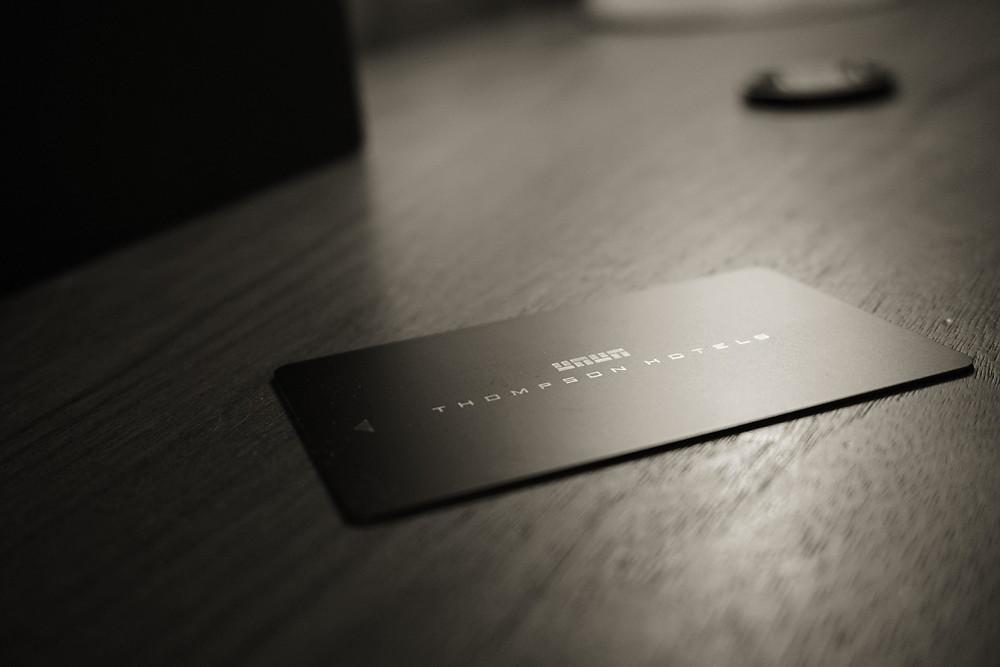 Thompson Hotel - key card
