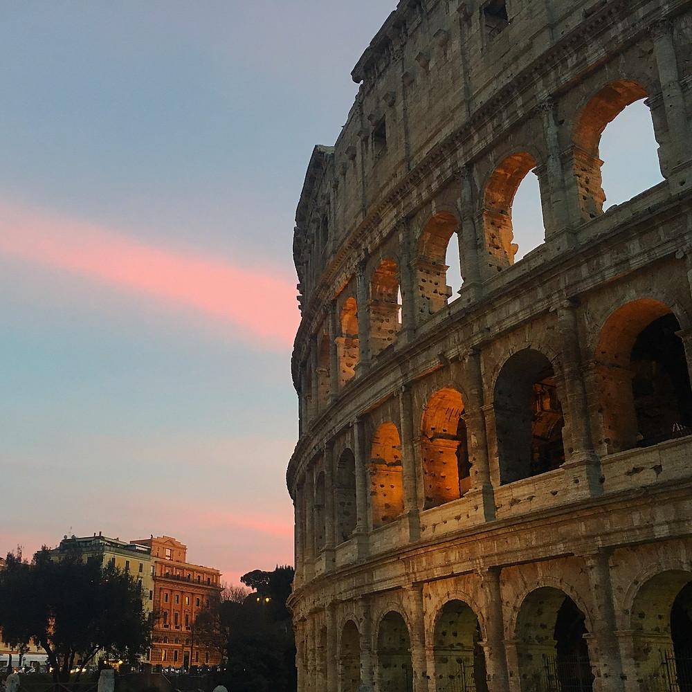 Sunset - Colosseum