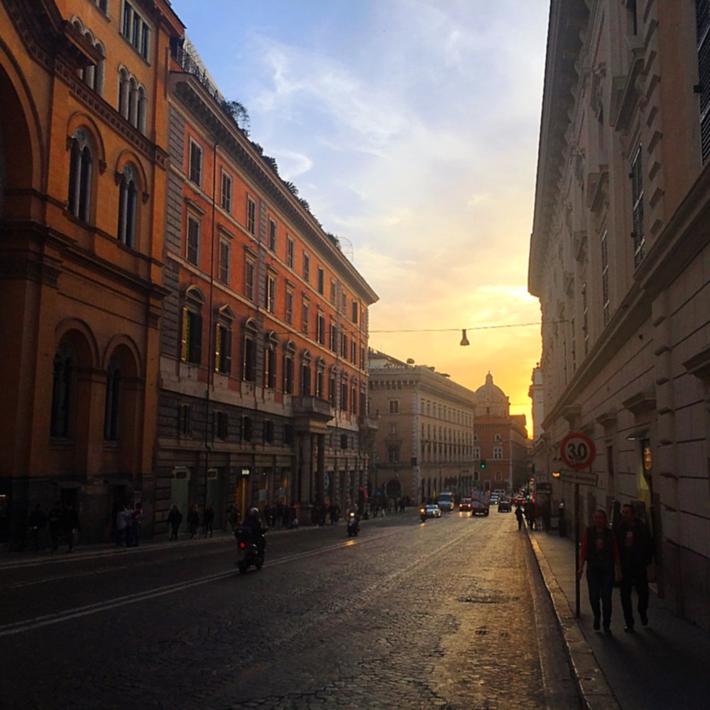 Streets of Rome - Dusk