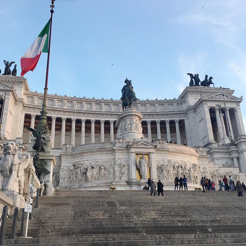 Victor Emmanuel II Monument - closer look