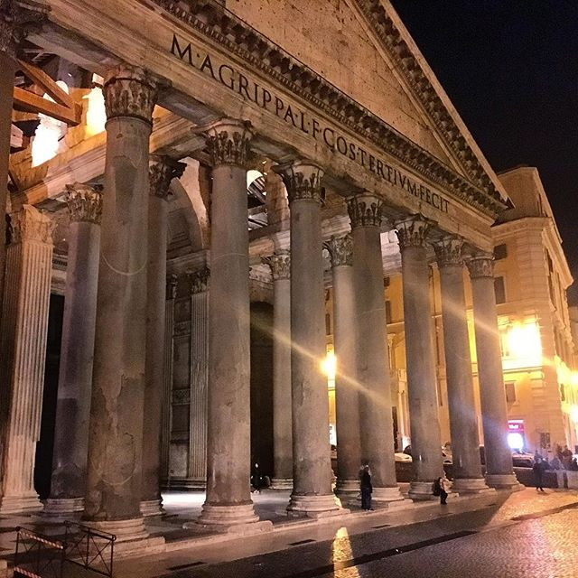 Dinner at the Pantheon