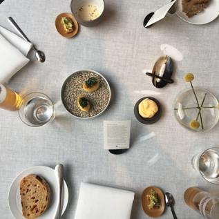 DINING AT 2 MICHELIN STAR RESTAURANT IN VIENNA