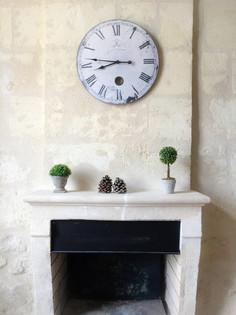 Caleche Kitchen fireplace