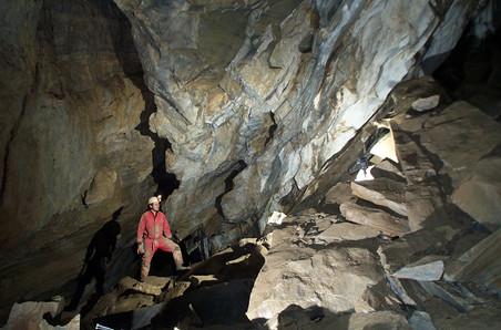 Spannagelhöhle, Hermann Gaun Halle