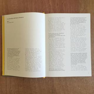 עמודים מתוך עיצוב ספר