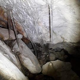 Eisbildung im Jänner 2021