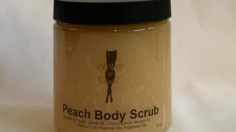 Peach Body Scrub