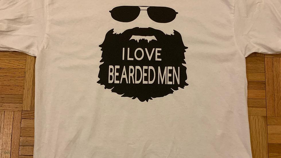 I Love Bearded Men Tee