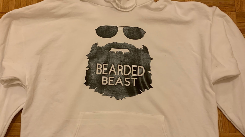 Bearded Beast Pullover Hoodie
