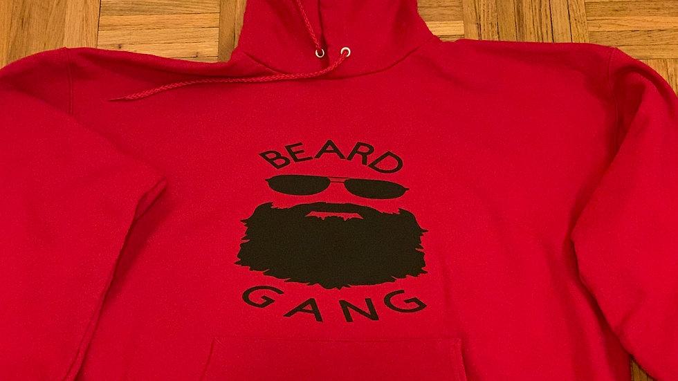 Beard Gang Pullover Hoodie