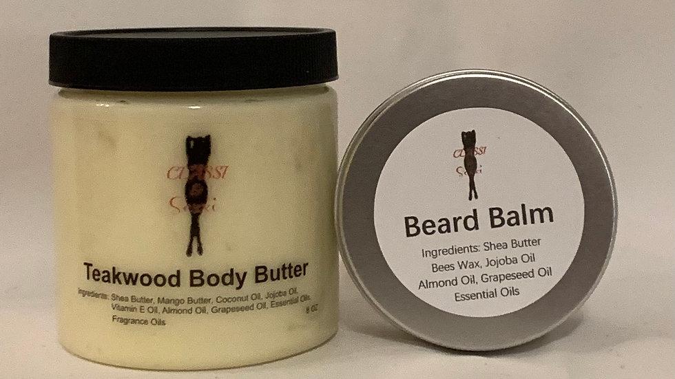 Teakwood(for men) Body Butter & Beard Balm