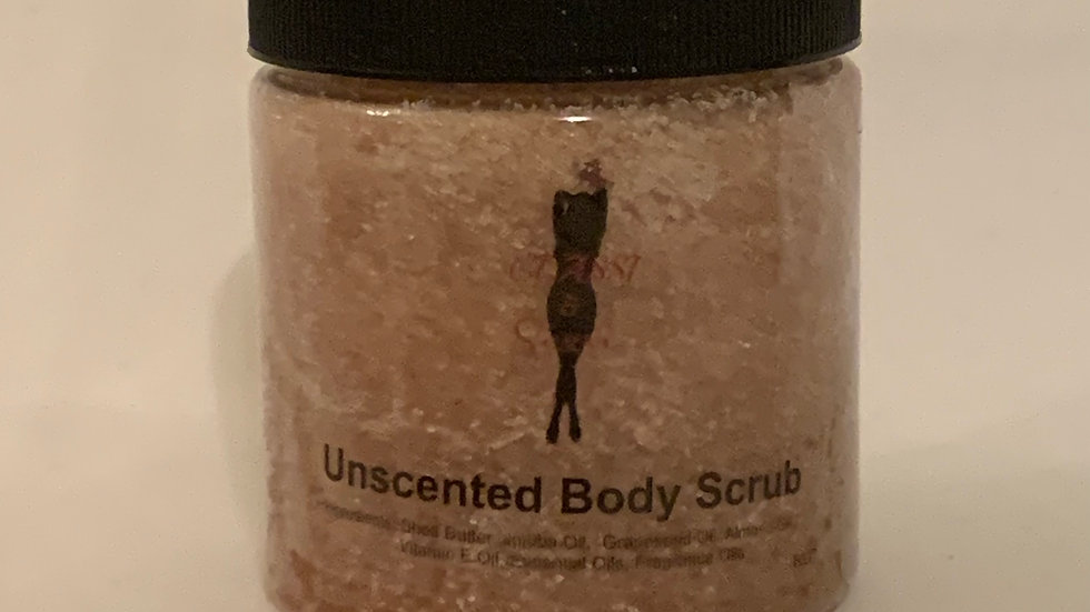 Unscented Body Scrub