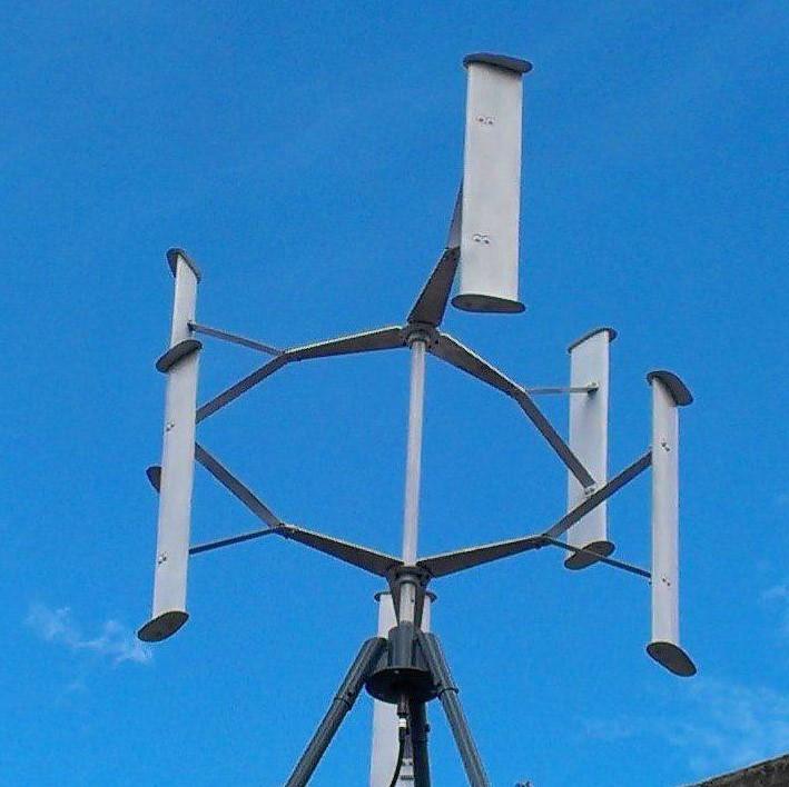 Вертикально-осевой ветроагрегат