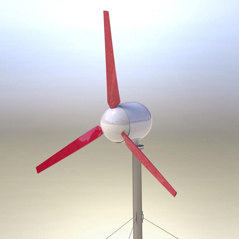 Горизонтально-осевой ветроагрегат